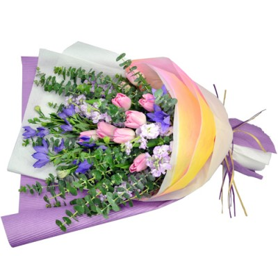 Valentines Day Special  10pcs Holland Tulips Bouquet