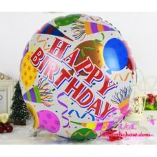 Happy Birthday Round Shape Balloon