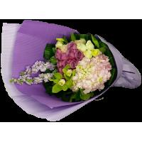 Hydrangea Cymbidium Bouquet