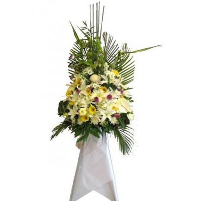 Sympathy Flowers arrangement 3